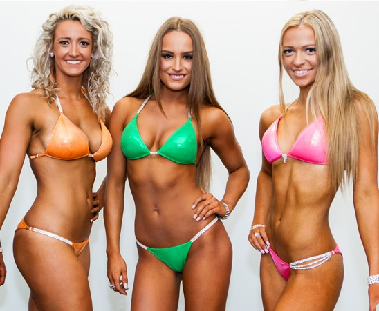 Bikini comp photos