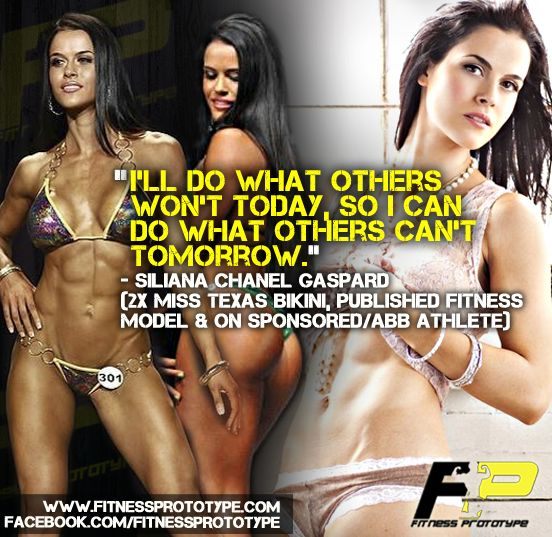Sponsored Bikini Competitor